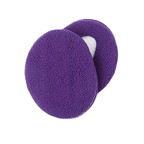 BUYITNOW 1 Pair Unisex Winter Ear Covers Outdoors Bag Earmuffs Bandless Fleece Ear Warmers (Bandless Ear Muffs)