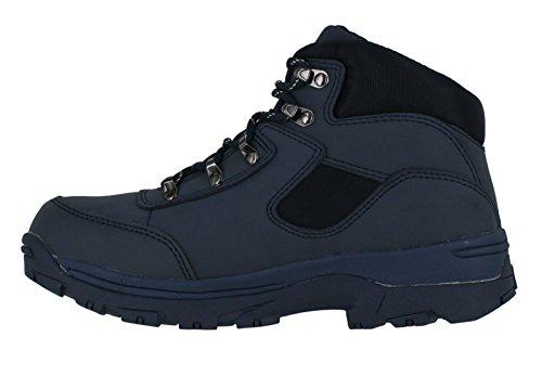 Pelle Navy Da Storm Boot Donna Con nylon In Impermeabile escursionismo Passeggio Completamente Lacci wqCgxgAUZ