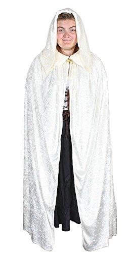 Alexanders Costumes Men's Dickens Cloak, Cream, One Size (Dickens Dress)