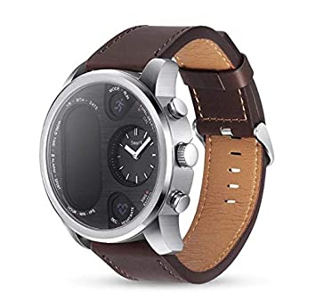 Amazon.com: LEMFO T3 Dual Display Smart Watch for Men (Dark ...