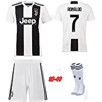Replica Juventus Kids Full Kit - RONALDO name and number