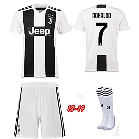 eb942d850 Replica Juventus Kids Full Kit - RONALDO name and number (24 (8 9 ...