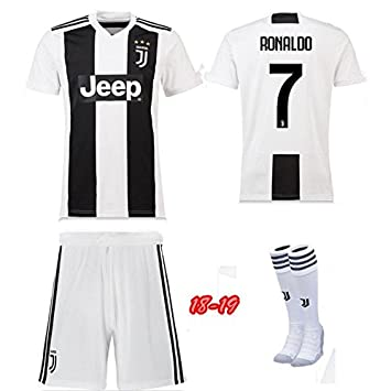 newest e1d85 4052b Replica Juventus Kids Full Kit - RONALDO name and number