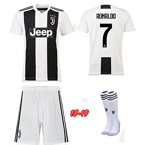 newest 341af 1c12d Replica Juventus Kids Full Kit - RONALDO name and number