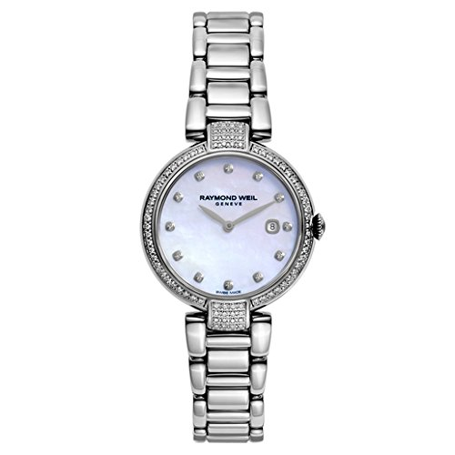 Raymond Weil Women's Swiss Quartz Stainless Steel Casual Watch, Color:Silver-Toned (Model: 1600-SCS-97081) by Raymond Weil