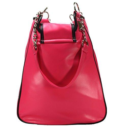 Disney bag Carry Shoulder Women's Minnie Mouse Bottons Handbag Bag rCxwqTrSZX