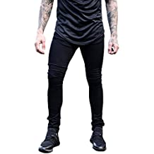 XARAZA Men's Skinny Slim Fit Stretch Jeans Denim Pencil Pants