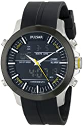 "Pulsar Men's PW6001 ""Active Sport"" Stainless Steel Watch"