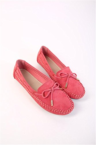 On Flats Shoes Bow Slip Breathe Red Leather Fashion Shoes Woman Shoes 9 Kenavinca Women Flats Women Shoes p0dUxqwXUz