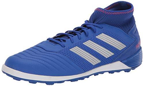 adidas Men's Predator 19.3 Turf, Bold Blue/Silver Metallic/Active red 10.5 M US -