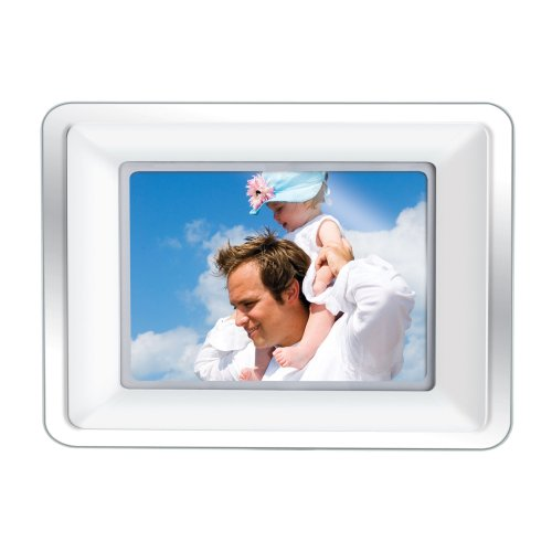 Coby DP772 7-Inch Widescreen Digital Photo Frame with MP3 Player by Coby