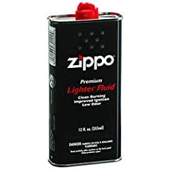 Zippo Premium Lighter Fluid will keep your Zippo windproof lighter and Zippo Hand Warmer working at its best. Zippo Premium Lighter Fluid comes in a 12 fl. oz. can. Note: This product is not for use with the Multi Purpose Lighter, Flex Neck, ...