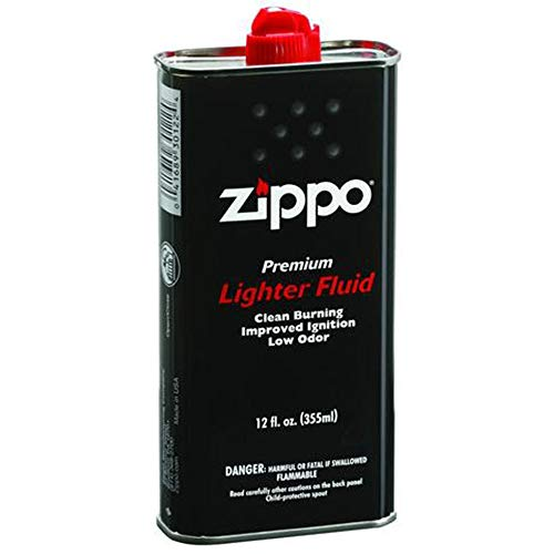 Zippo Lighter Fluid, 12 oz. (Super Smoke Fluid)