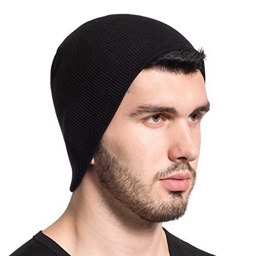 Leucos Ticte Beanie Knit Hat Men Women Cuffed Plain Cap Skull Toboggan