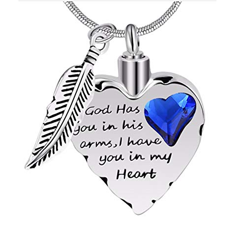 Stainless Personalized Cremation Necklace Jewelry