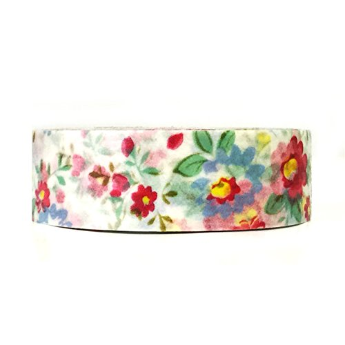 Wrapables Colorful Patterns Masking Flowers