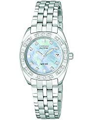 Citizen Womens EW1590-56Y Eco Drive Stainless Steel Watch