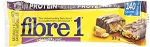 Fibre 1 Caramel Nut, 4-Count, 132 Gram