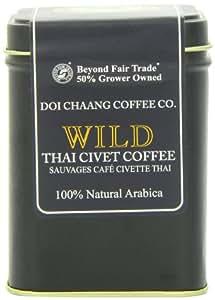 DOI CHAANG COFFEE Wild Thai Civet, 1.76 Ounce