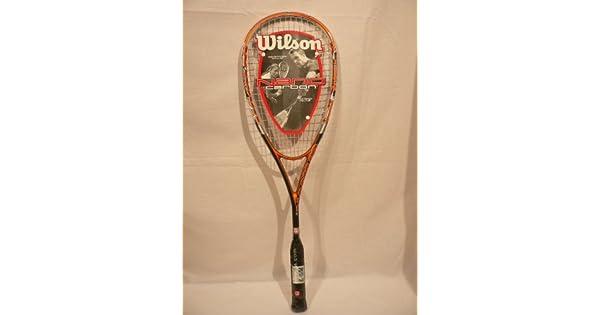 Amazon.com: Wilson Nano carbono Blaze raqueta de Squash ...