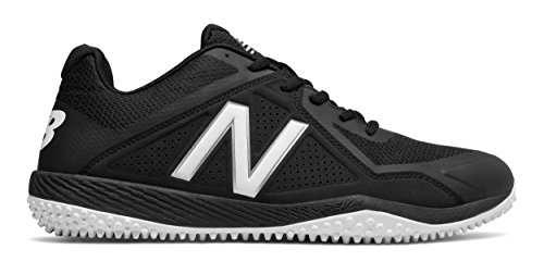New Balance Men's T4040v4 Turf Baseball Shoe, Black, 12 D - Top Players Softball