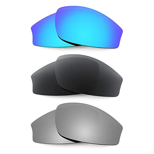 Revant Replacement Lenses for Wiley X Jake 3 Pair Combo Pack K015