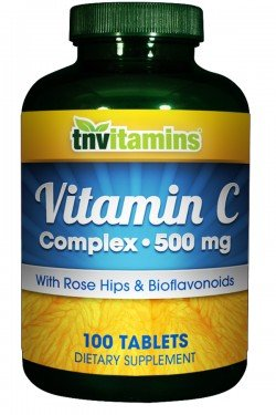 UPC 095234272309, TNVitamins C Complex 500 Mg with Bioflavonoids- 100 Tablets