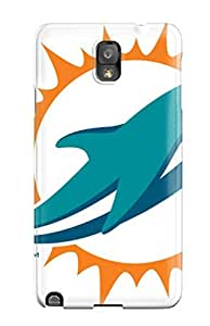 Hot Tpye Miamiolphins Case Cover For Galaxy Note 3