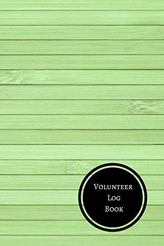 Volunteer Log Book: Volunteer Log pdf