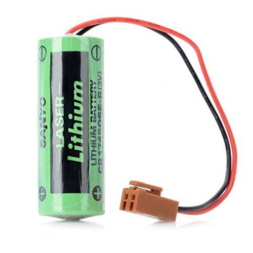 Sanyo CR17450SE-R 2000mAh 3V Li-ion PLC Industrial Battery w/ Resistor / Plug