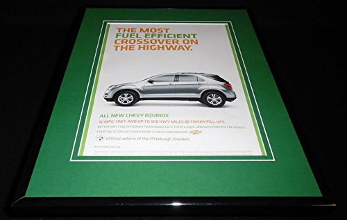 2009 Chevrolet Equinox Framed 11x14 ORIGINAL -
