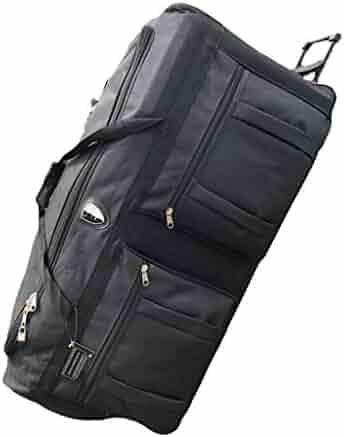 5087bfa6e ICE USA 42-inch Gothamite Ro & Co Rolling Wheeled Bag Cargo Duffel Outdoor  Travel