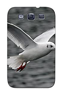 Catenaryoi Brand New Defender Case For Galaxy S3 (white Flying Seagull ) / Christmas's Gift