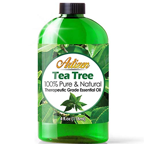Artizen Tea Tree Essential Oil (100% PURE & NATURAL - UNDILUTED) Therapeutic Grade - Huge 4oz Bottle - Perfect for Aromatherapy, Relaxation, Skin Therapy & More!