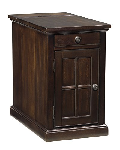 Rectangular Chairside End Table - 4