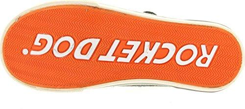 Canvas Sneaker Dog Women's Rocket Fashion Jelissafo Grey zHcP8Yx