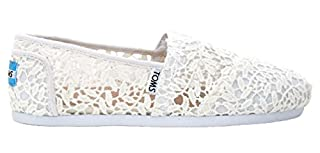 TOMS Classic Casual Shoes in White Lace Leaves, 8.5 (B01DKXVDMC) | Amazon price tracker / tracking, Amazon price history charts, Amazon price watches, Amazon price drop alerts