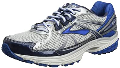 Brooks Mens Adrenaline Running Shoes GTS 13 Color: Wht/Obsdian/Blck/Olmpc/Slvr Size: 9.0