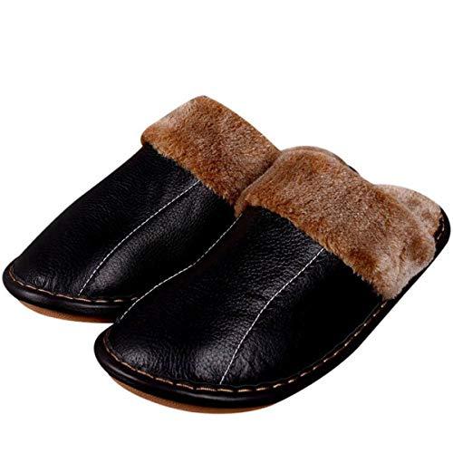 Pantofole Per Suola Casa In 40 45 Invernali Cotone Caldo Donna 44 Pavimento Da Ciabatte Pelle E Antiscivolo Con Uomo Adatto Spessa Coppia 39 UrqSxUn