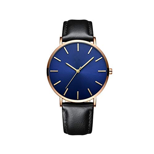 Godagoda 6.5MM Quartz Watch Men Business Casual Watch for The Workplace Business Gathering Gifts ()