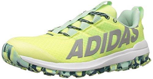 adidas Performance Women's Vigor 6 Women's Trail Running Shoe, Frozen Yellow/Silver/Green, 9.5 M US