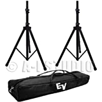 Electro-Voice TSP-1 Aluminum Tripod Speaker Stand Pair with Carry Bag