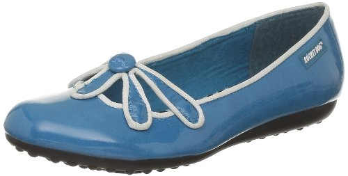 (Rocket Dog Womens Fabric Ballerina Shoes Blue 6.5 B(M) US)