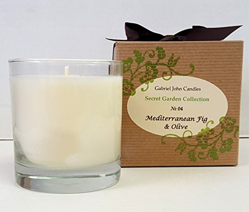 llection Candles: No. 04 Mediterranean Fig & Olive 10 oz Pure Soy Candle ()