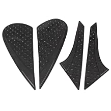GZYF Tank Traction Pad Side Gas Knee Grip Protector for HONDA CBR 1000RR 10-15 Black