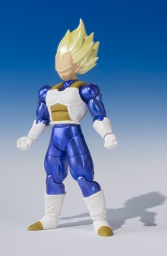 Dragonball Z Shodo Bandai 3 Figure Super Saiyan Vegeta By Animewild
