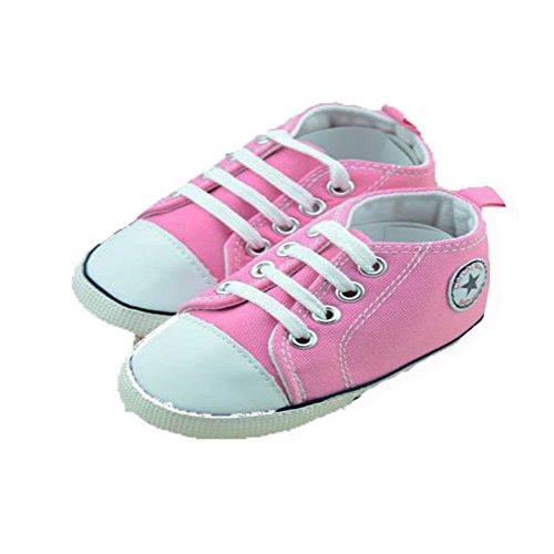 etrack-online Baby Boy deportes lienzo zapatillas 0–