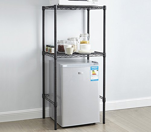 DormCo The Mini Shelf Supreme - Adjustable Shelving - Gunmetal Gray