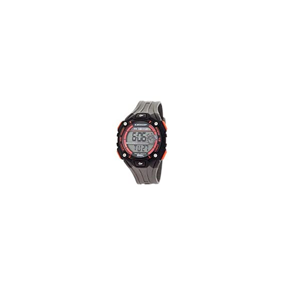 Dunlop Reloj Digital para Hombre de Automático con Correa en Resina DUN-201-G07: Amazon.es: Relojes