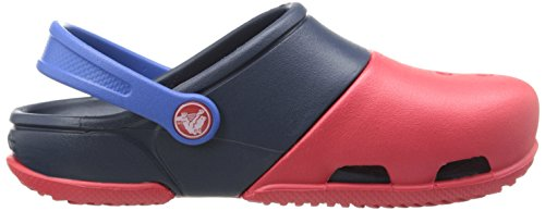 crocs Unisex-Kinder Electro Ii Clog Rot (Red/Navy)